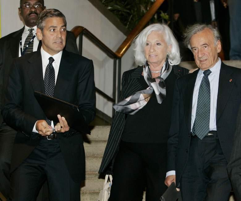 Elie Wiesel George Clooney, Marion Wiesel, Elie Wiesel wife