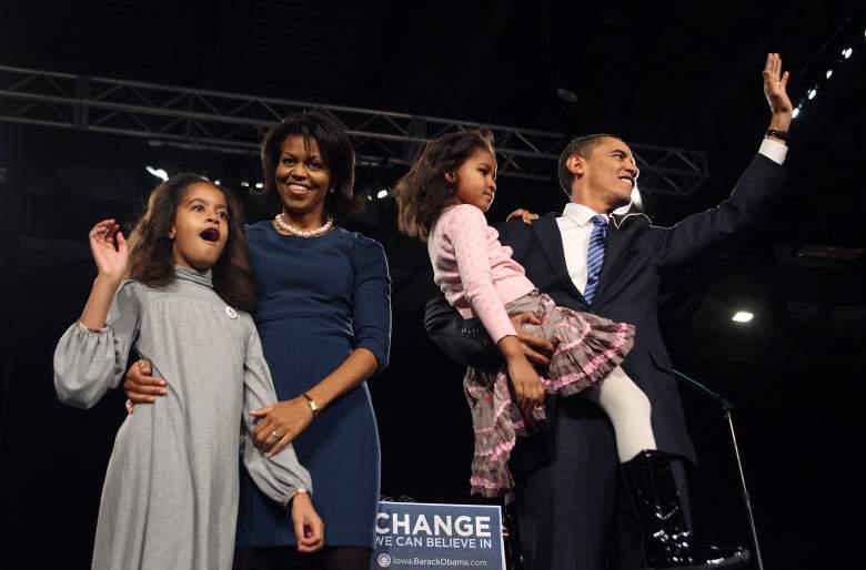 Sasha Obama, Malia Obama, Barack Obama family, Michelle Obama