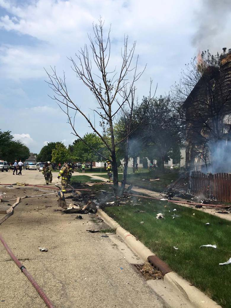 Plainfield Plane Crash Joliet Fire Department