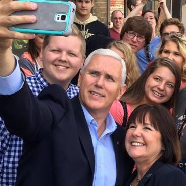 Mike Pence wife, Indiana First Lady, Karen Pence