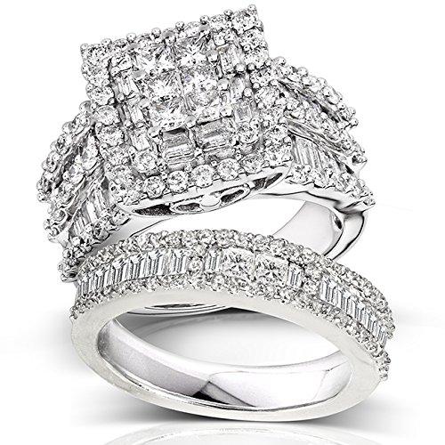 Kobelli Diamond Engagement Ring Set
