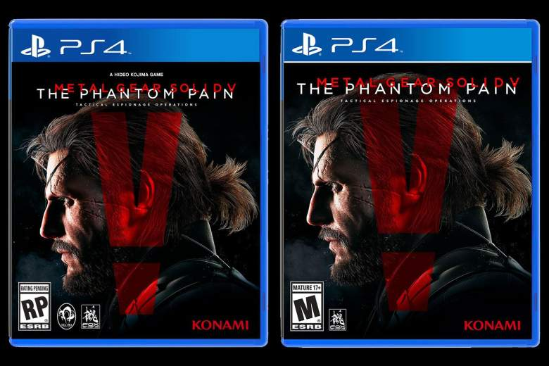Metal Gear Solid V Box Art