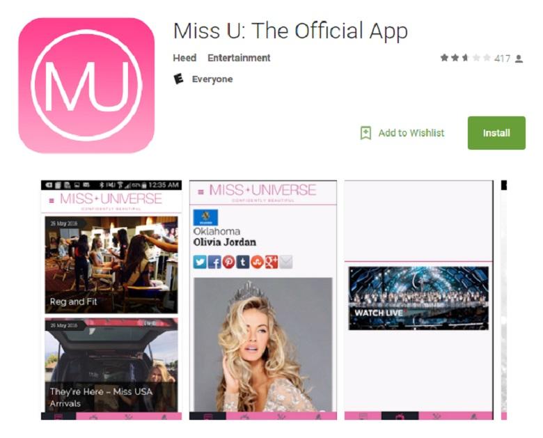 Miss U App, Miss Teen USA, Miss Teen USA Pageant 2016, Miss Teen USA 2016 Live Stream, Watch Miss Teen USA Online, Watch Miss Teen USA Live Stream