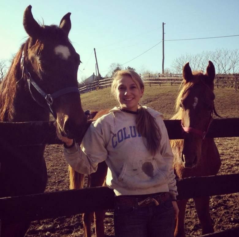 Morgan Billig Carson Kressley Niece, Carson Kressley Niece, Morgan Billig, Morgan Billig Horseback riding