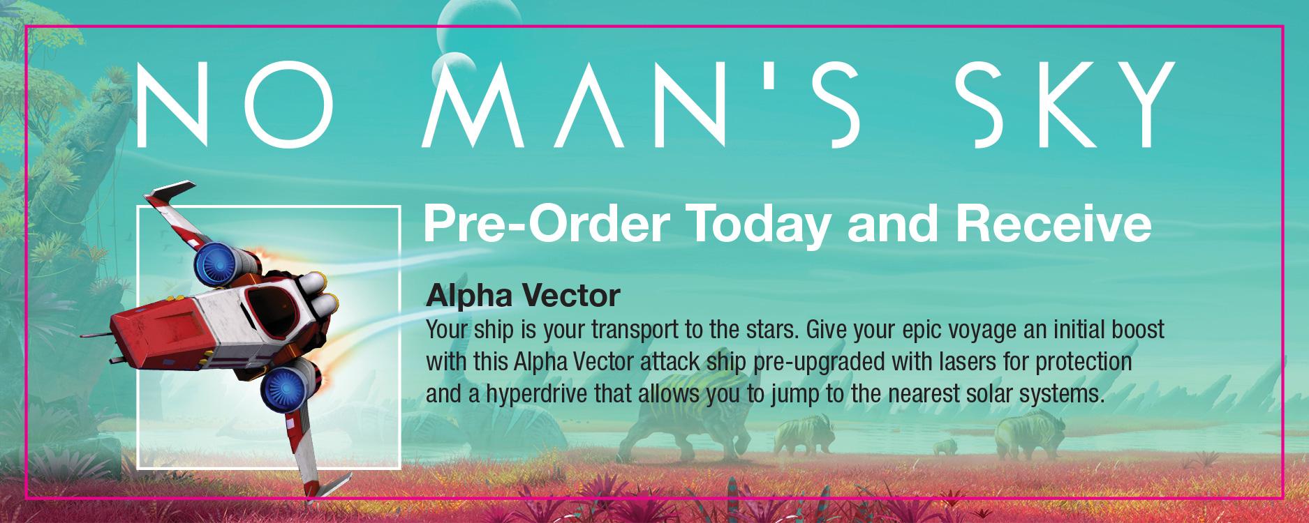 No Man's Sky Pre Order