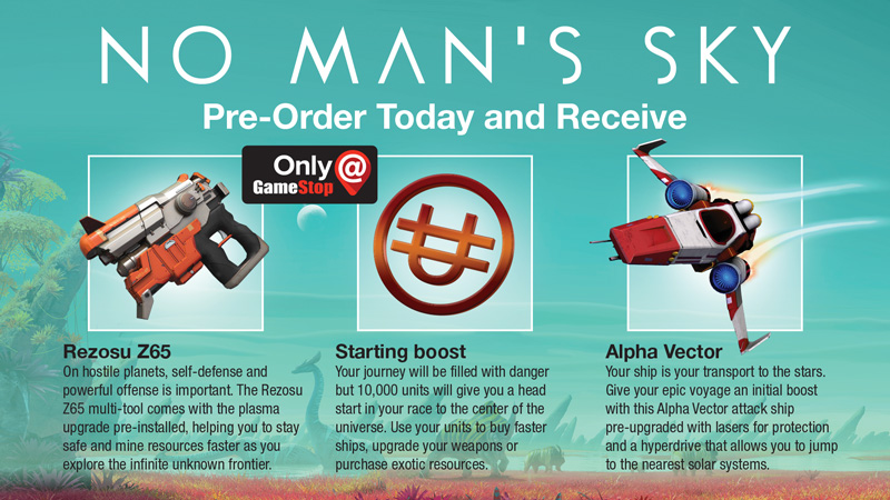 No Man's Sky Gamestop
