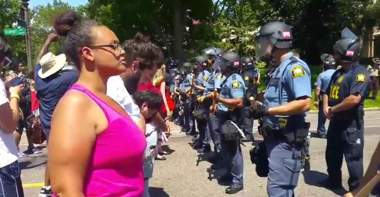 philando castile, st. paul, saint paul, governor's mansion, police, black lives matter mpls, black lives matter