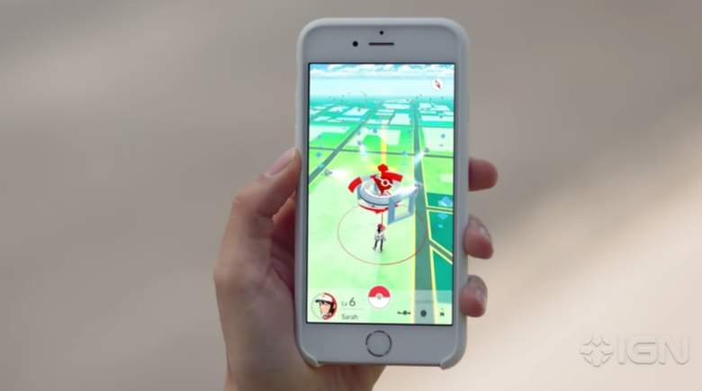 Interacting with Pokestops will give players valuable items. (Niantic/IGN)