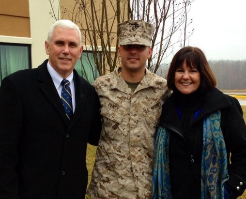 Michael Pence Mike Pence S Son 5 Fast Facts Heavy Com
