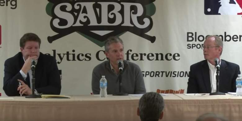 Sports agent Casey Close speaks during a conference. (YouTube)
