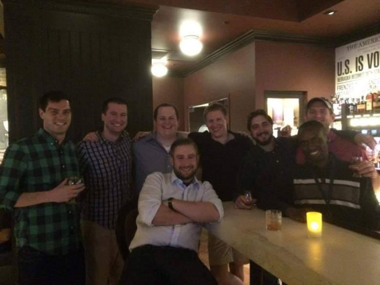 Seth Rich with friends. (Facebook/Seth Rich memorial page).
