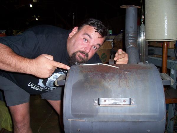 Shannon Whisnant found a leg in a smoker he bought at a storage auction (Photo from wikimedia commons)