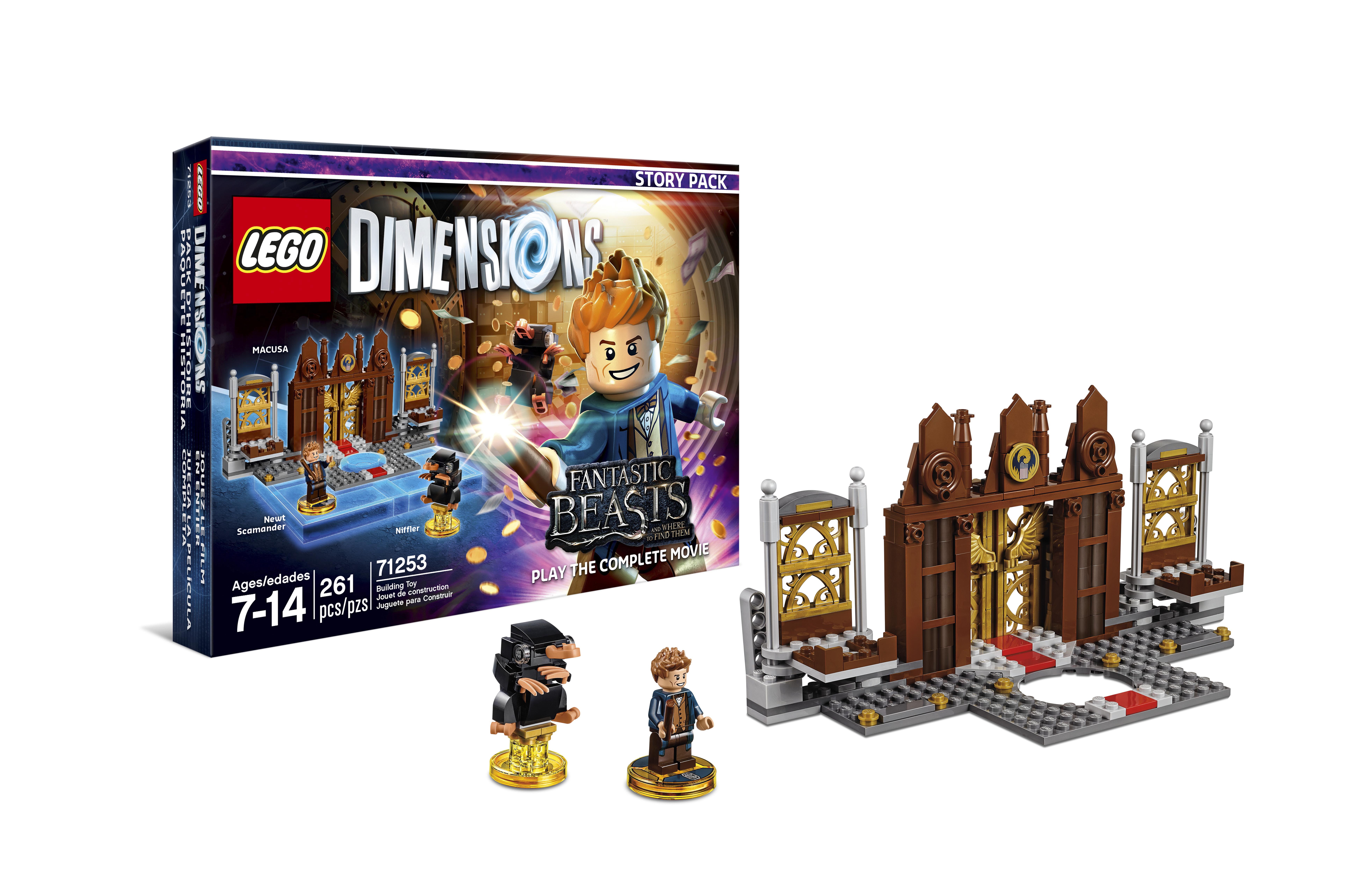 Lego Dimensions Fantastic Beasts and Where to Find Them