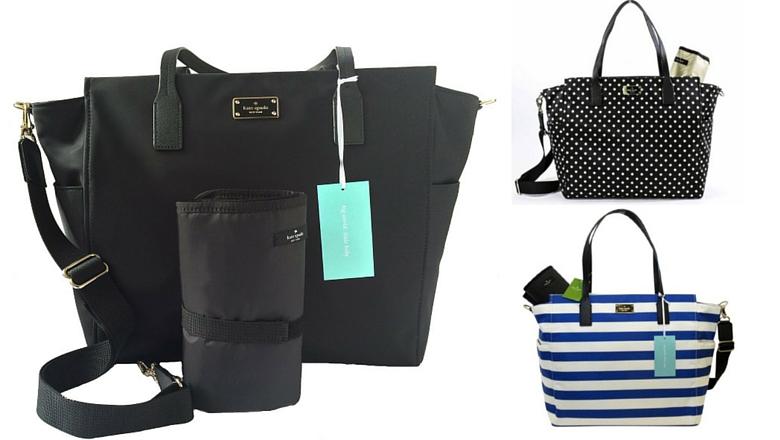 Kate Spade Taden Baby Bag Blake Avenue in Diamond Dot ,best designer diaper bag
