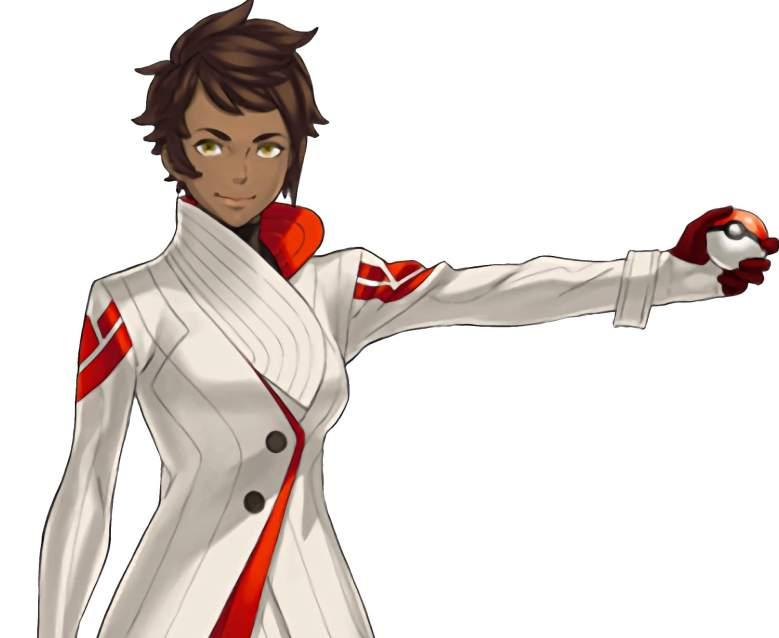Pokemon Go Carmela, pokemon go team valor, pokemon carmela