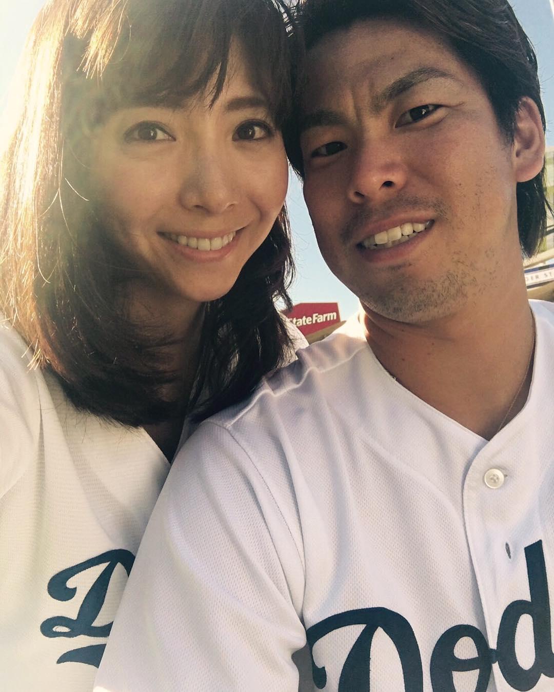 Saho Narushima, Kenta Maeda, Los Angeles Dodgers