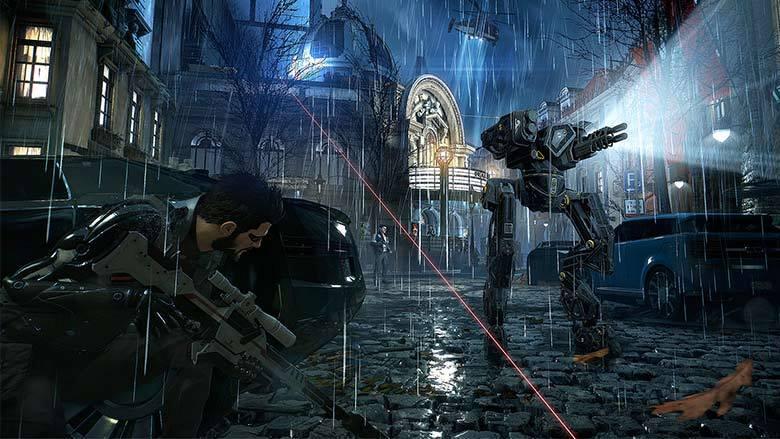 Deus Ex Mankind Divided launch trailer