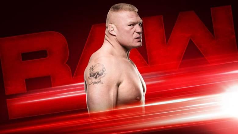 Brock Lesnar Monday Night Raw, Monday Night Raw August 1st, monday night raw match results