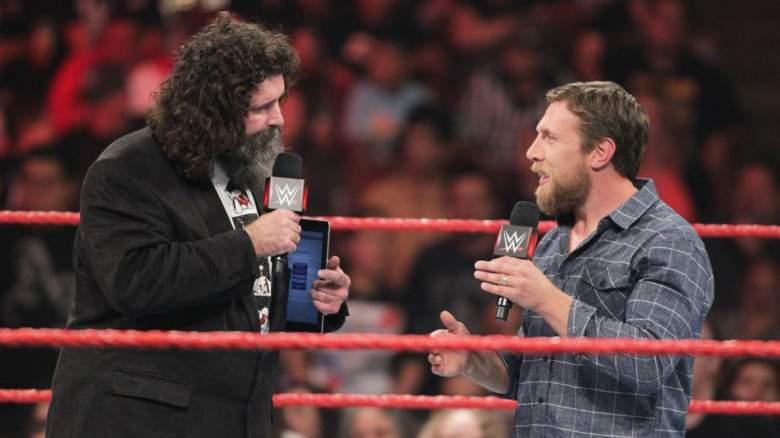 Monday Night Raw Daniel Bryan Mick Foley, monday night raw daniel bryan, daniel bryan mick foley