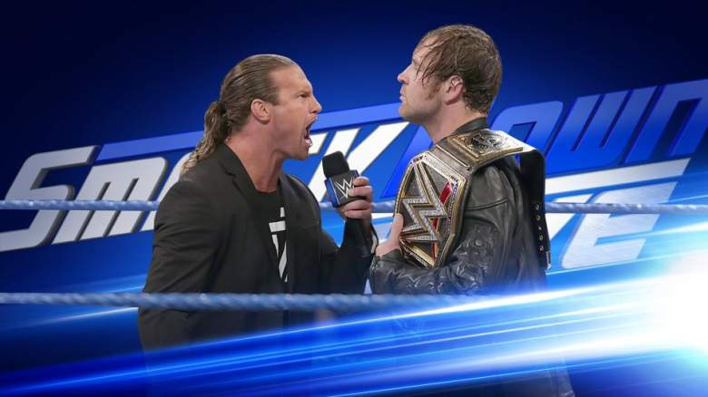SmackDown dean ambrose, SmackDown dolph ziggler, SmackDown august 8