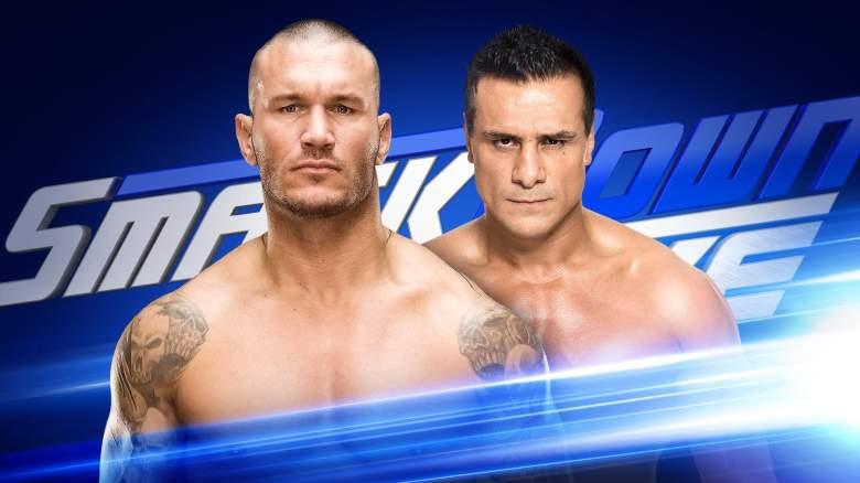 SmackDown randy orton, SmackDown alberto del rio, SmackDown august 9