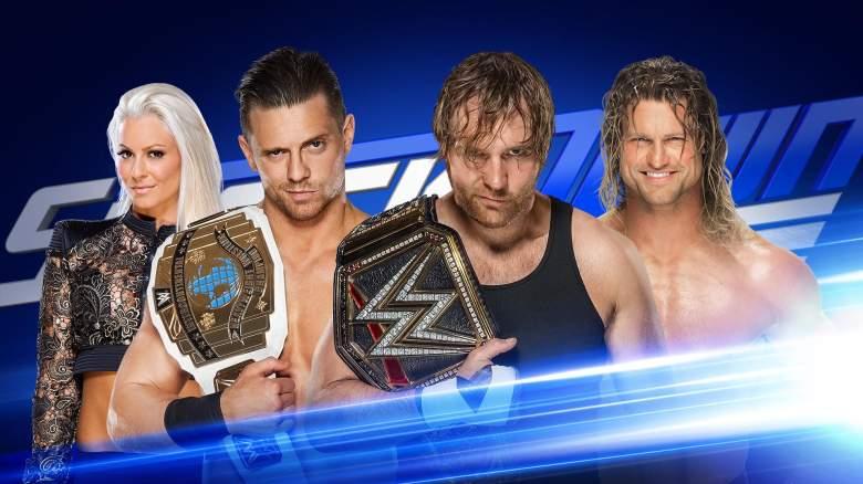 SmackDown live, smackdown august 16, smackdown live austin