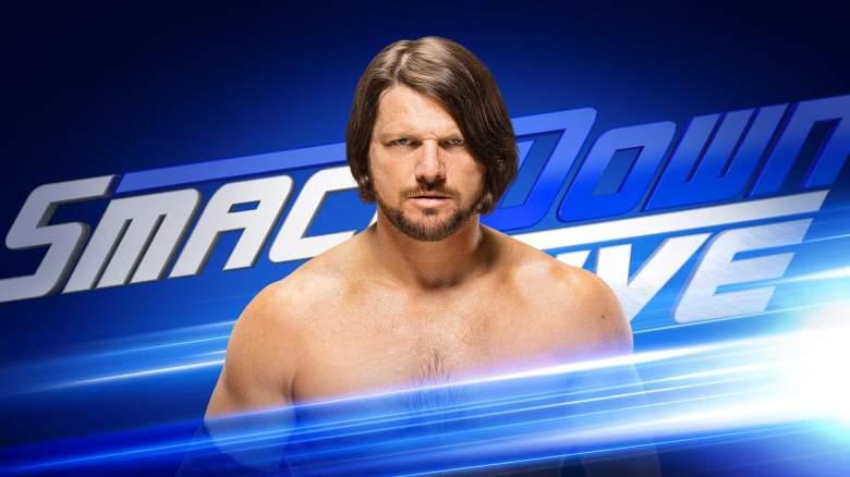 SmackDown AJ Styles, wwe aj styles, SmackDown august 23