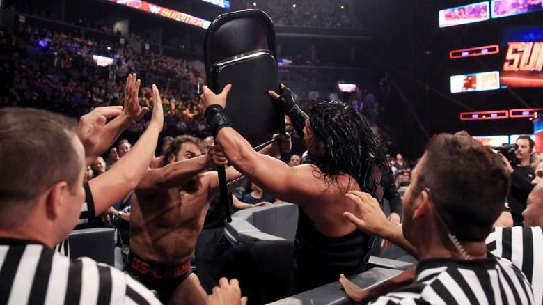 SummerSlam Roman Reigns, SummerSlam Rusev, SummerSlam Roman Reigns Rusev