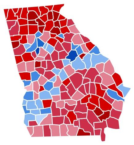 Georgia 2012 election, Georgia election results 2016, Georgia obama romney