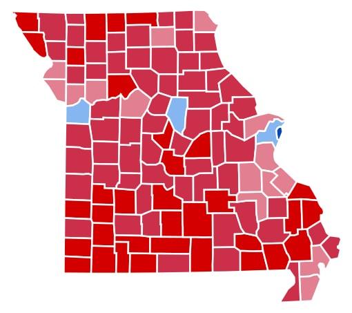 Missouri election results 2012, 2012 election Missouri, Missouri obama romney