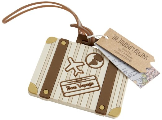 luggage tag wedding favor