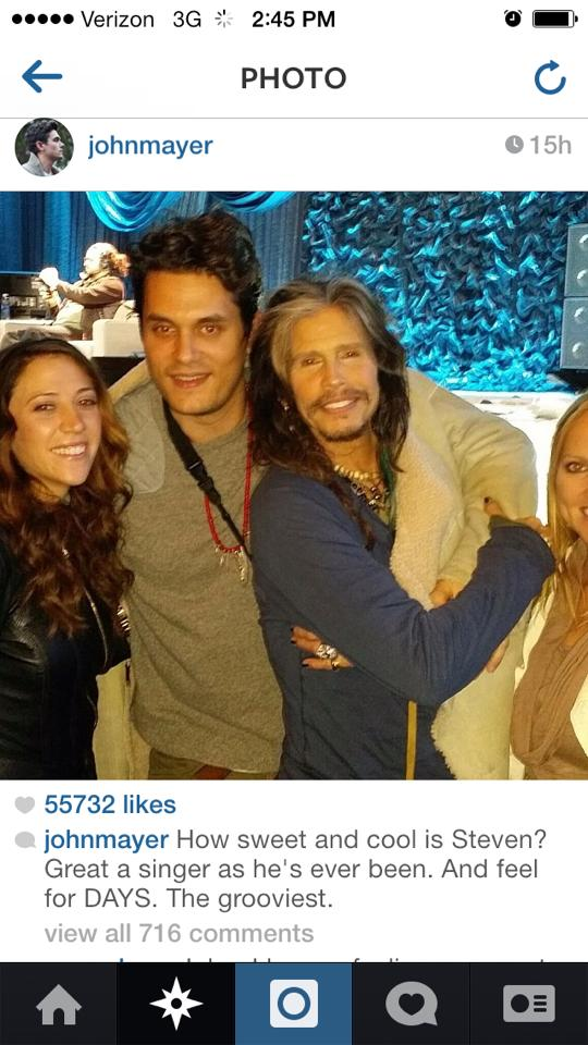 Aimee Ann Preston, Steven Tyler girlfriend, Steven Tyler John Mayer