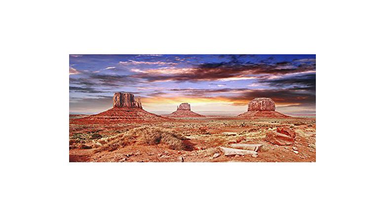 Image of BannersNStands Cool Desert Sky terrarium background