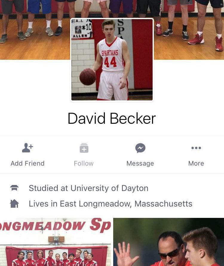 david becker, david becker facebook, david becker east longmeadow, david becker east longmeadow facebook