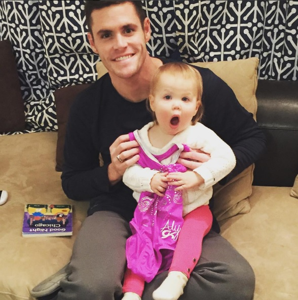 David Bouidia, David Boudia family, David Boudia daughter, Dakoda, Team USA, USA diving