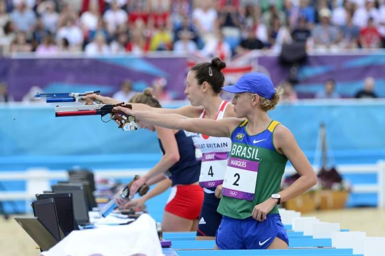 Yane Marques, Rio Olympics, Brazil Flag Bearer