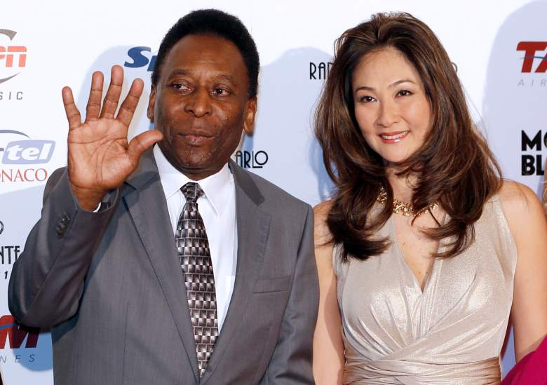 Pele, Pele wife, Marcia Cibele Aoki