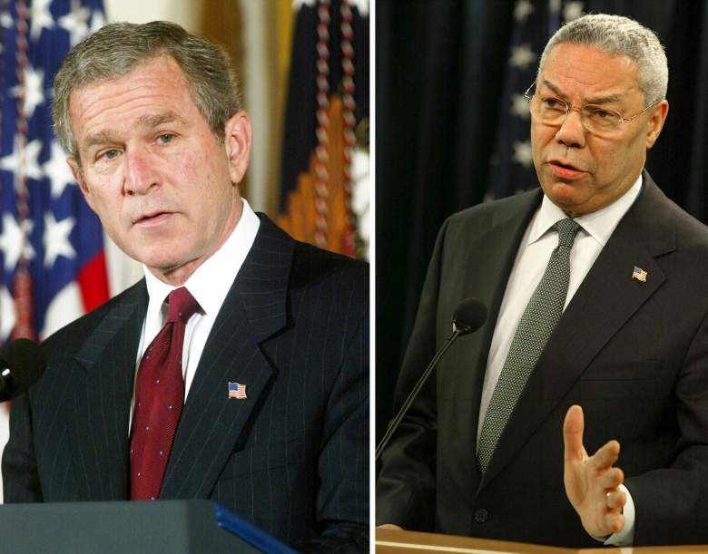 President George W. Bush gave Powell the latitude to classify emails; Clinton was limited to policies. (Getty)