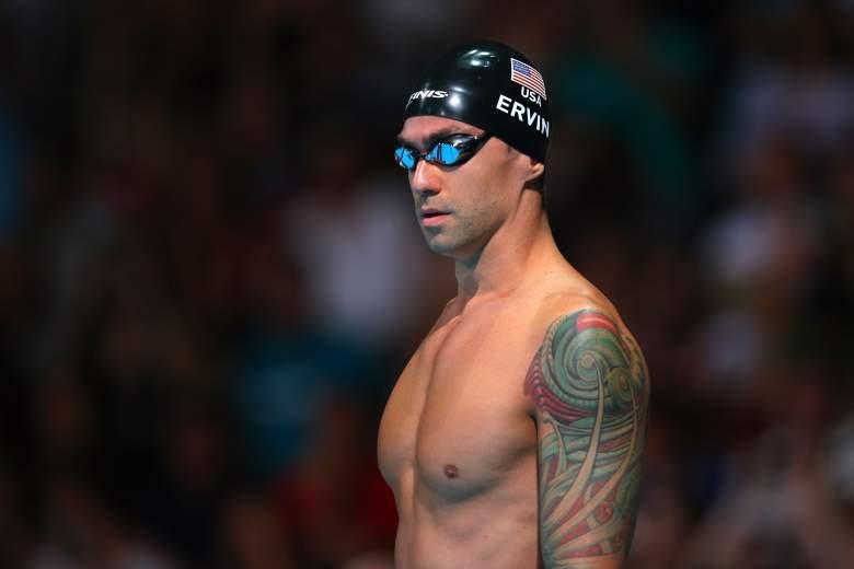 Anthony Ervin, Anthony Ervin Olympics, Anthony Ervin tattoos