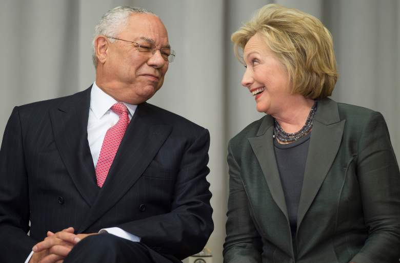 colin powell, email use, aol, clinton, server, secretary of state