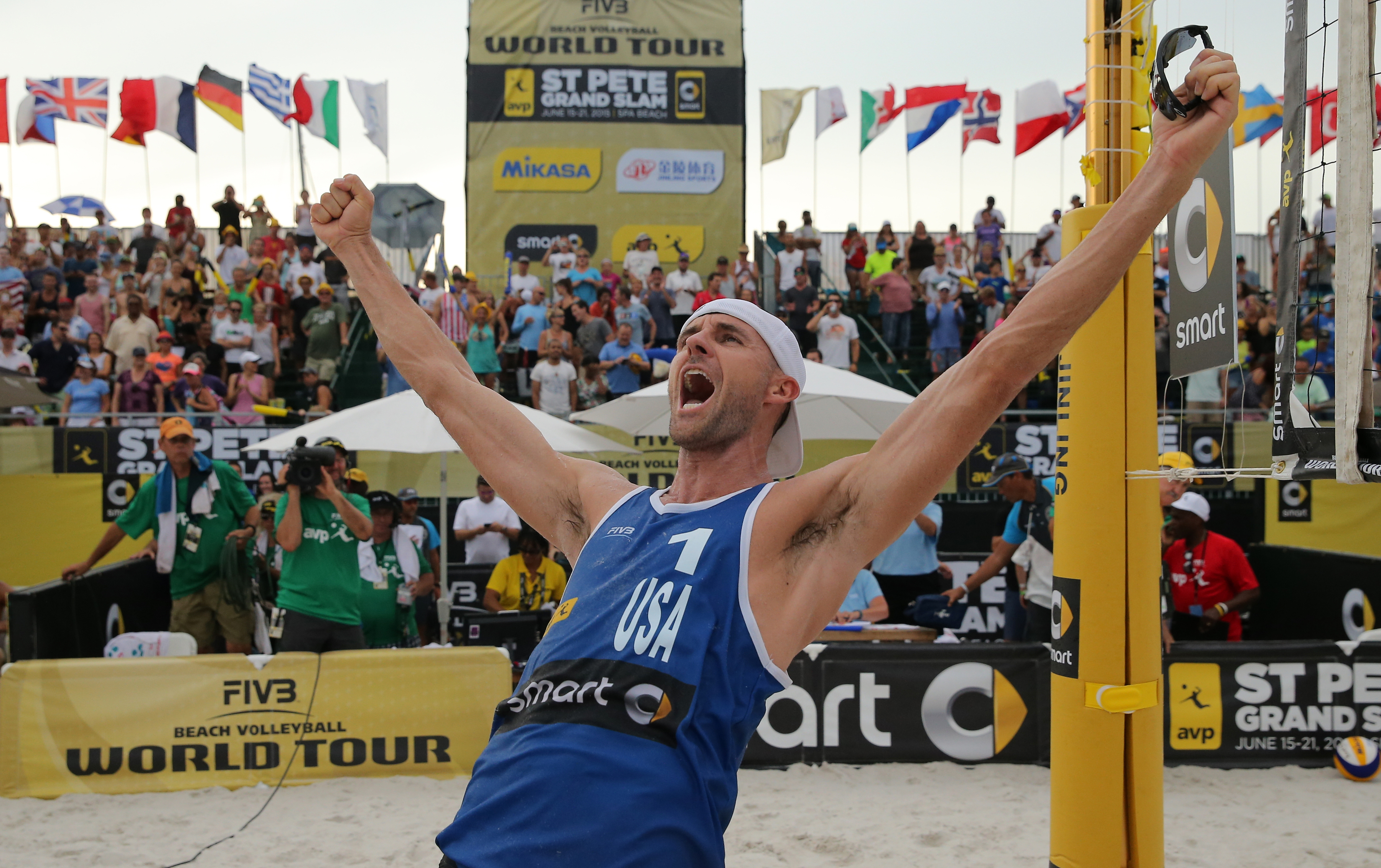 Jake Gibb, beach volleyball, 2016, Rio, Olympics