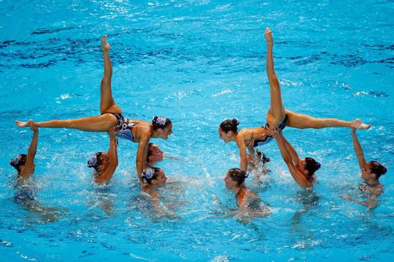 synchronized swimming, synchronized swimming Rio