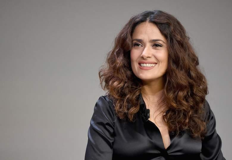 Salma Hayek, Salma Hayek Net Worth, Salma Hayek smile