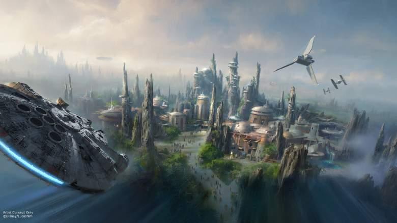 Star Wars Land, Star Wars theme park, Disneyland Star Wars, Star Wars Land photos