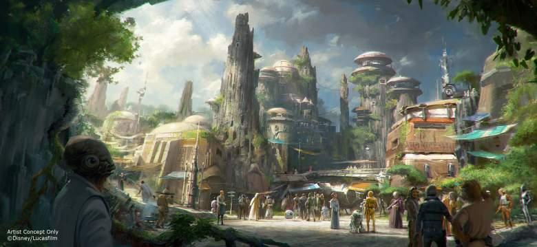 Star Wars Land, Star Wars theme park, Disney World Star Wars