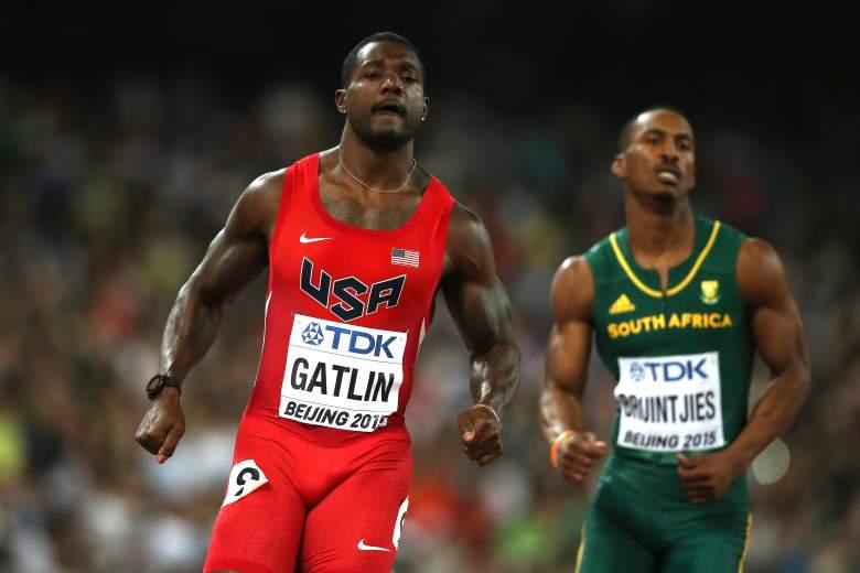 Justin Gatlin, Justin Gatlin height, Justin Gatlin speed, Justin Gatlin weight, Rio Olympics