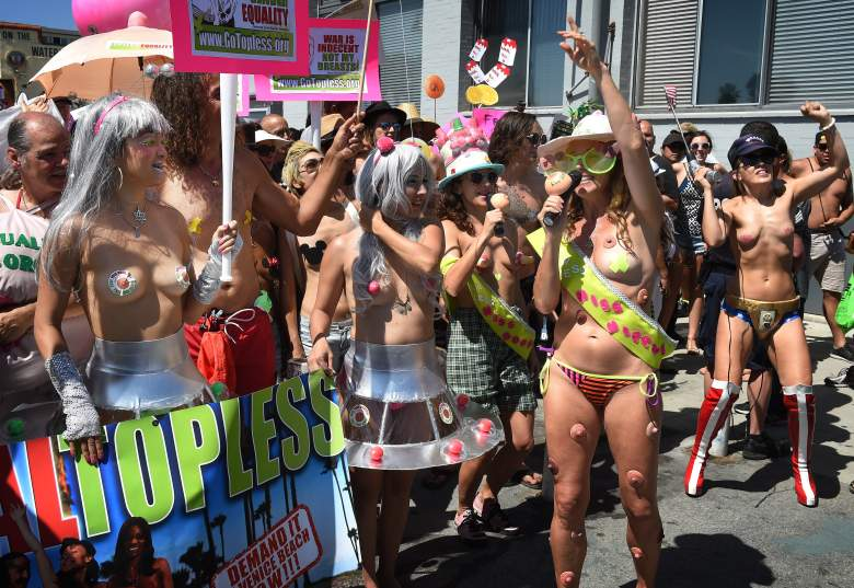 Go Topless Day, topless, topless women, women's rights, National Go Topless Day