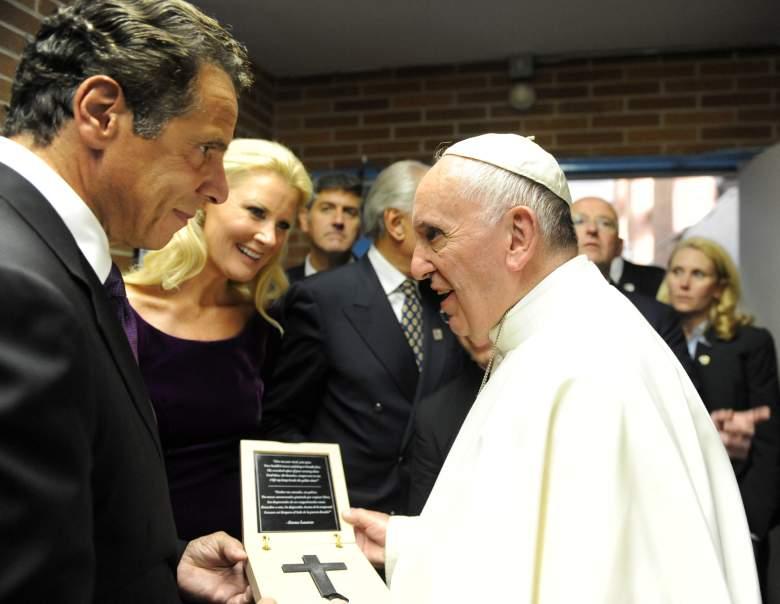 Pope Francis New York, Andrew Cuomo and Sandra Lee, Sandra Lee boyfriend,
