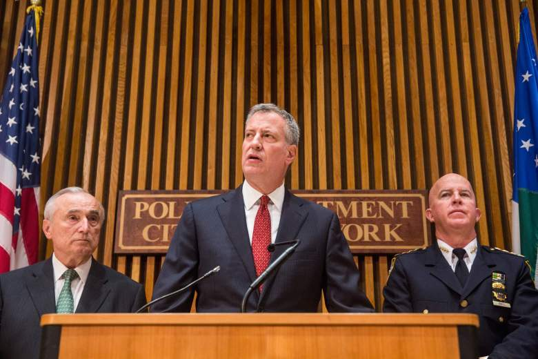 Bill De Blasio, William Bratton, James O'Neill, NYPD Commissioner, New York Police commissioner