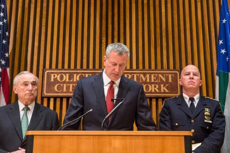 James P. O'Neill, Bill De Blasio, William Bratton, New York Police commissioner